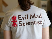 Evil Mad Scientist STEAM Tee