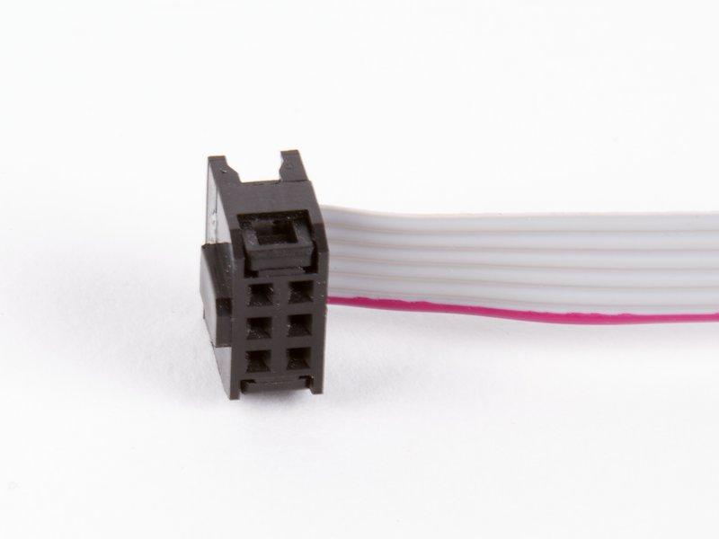 6 Pin Ribbon Cable : Pin dil ribbon cable inch