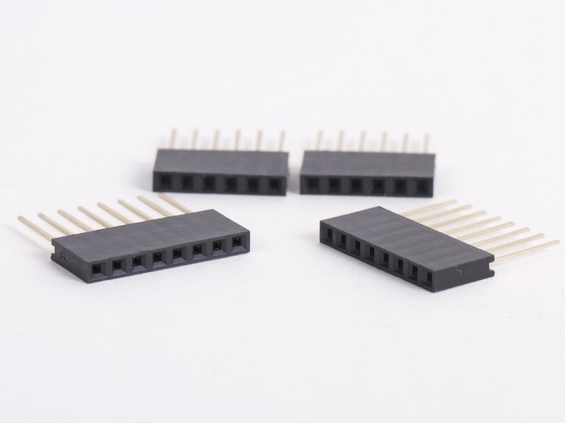 Stacking Header Sockets, 6- and 8-pin