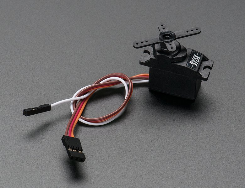 Analog Feedback Micro Servo Motor
