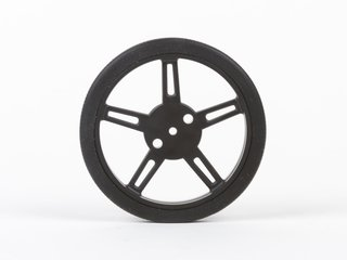 60mm wheel with silicone tread