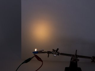 Warm White 3 mm Diffused LED
