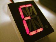 Ultrabright red 17-segment alphanumeric LED displays