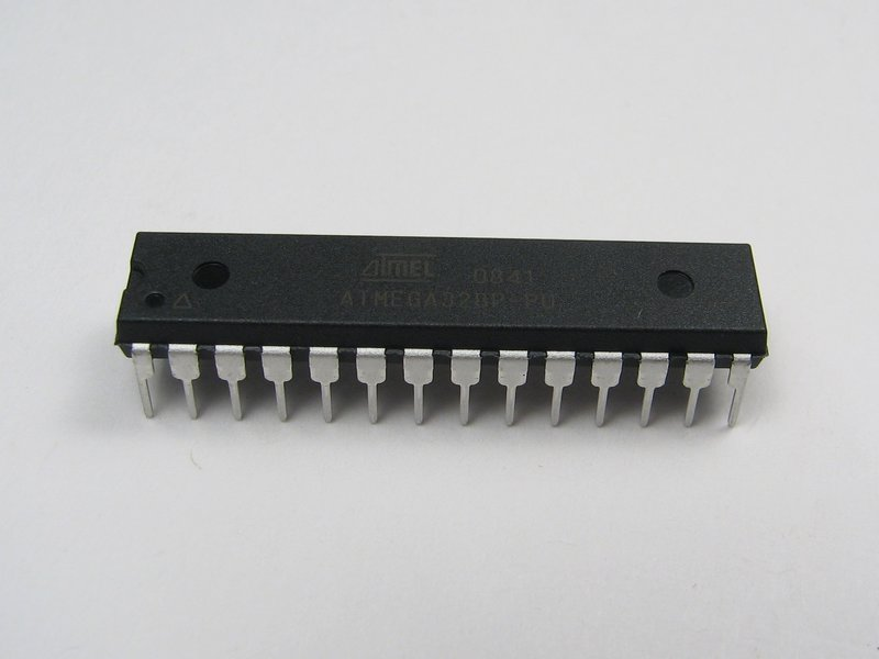 An example AVR microcontroller