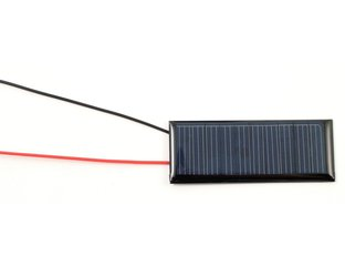 5.0 V 50 mA Solar Cell with wire leads
