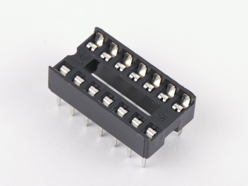 14-pin DIP Sockets