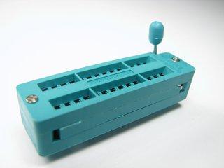 28-pin ZIF sockets