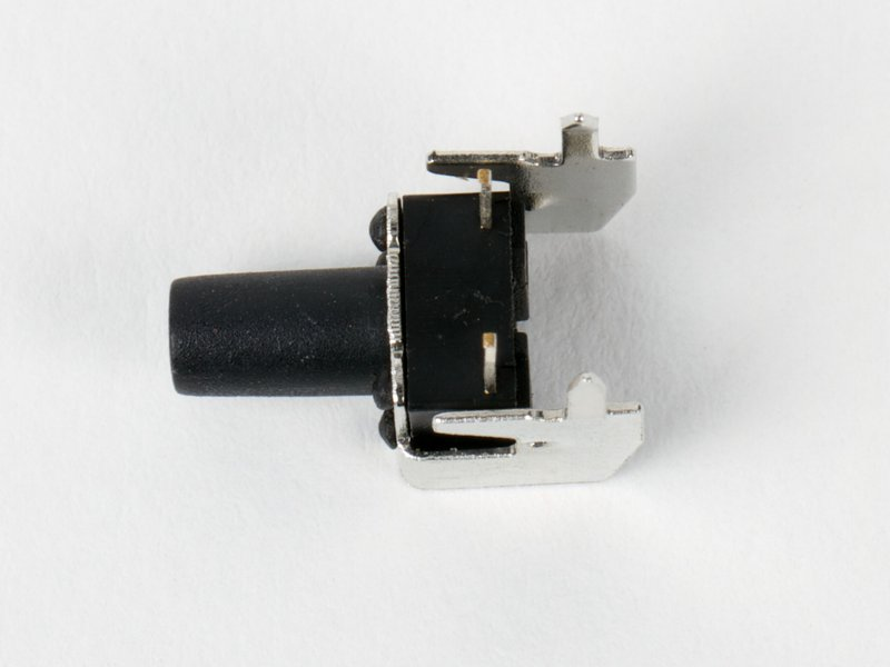 Tall right angle button switch