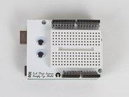Mini Breadboard, on Arduino shield