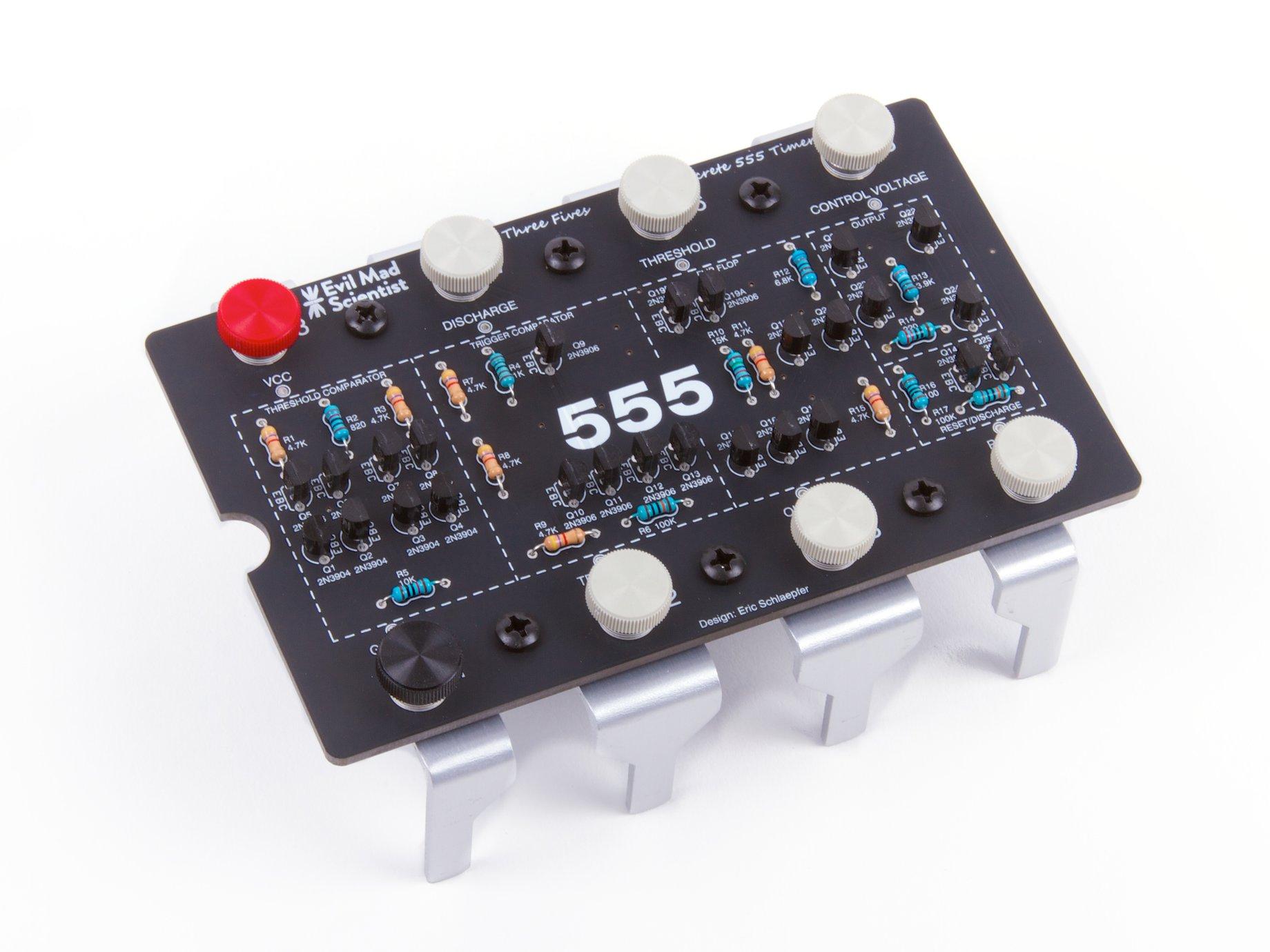 The Three Fives Kit A Discrete 555 Timer Internalcircuitofic555jpg Sku