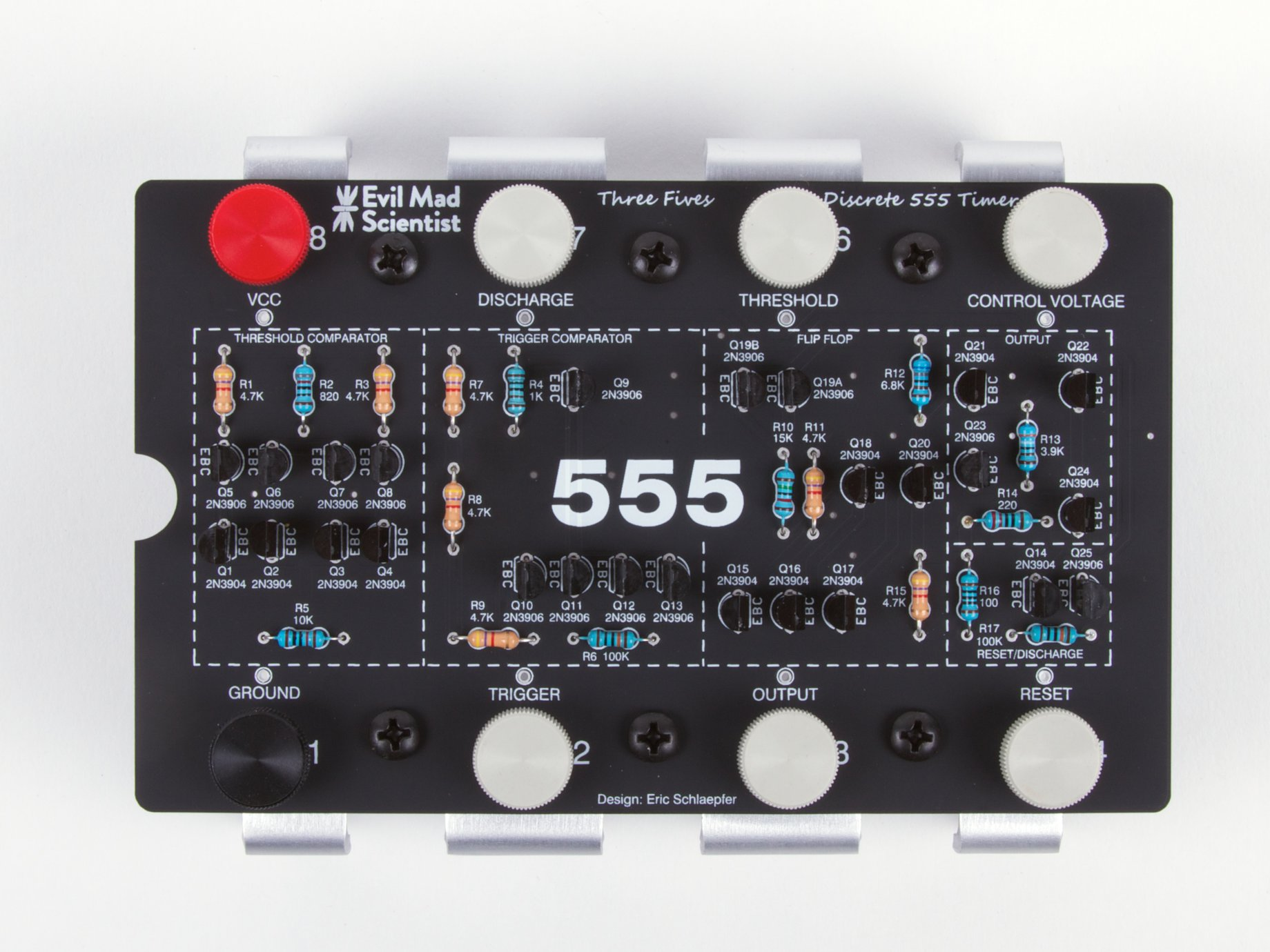 The Three Fives Kit A Discrete 555 Timer Here Is My Main Circuits Stub At Schematics Blog Sku