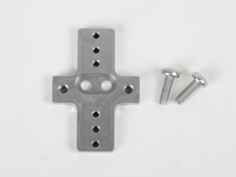 Rigid end effector with mounting screws