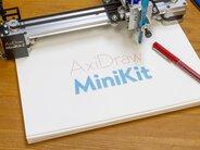AxiDraw MiniKit 2, drawing in a notebook