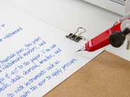 Fine-quality writing with fountain pen