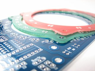 Bulbdial Clock PCB Set