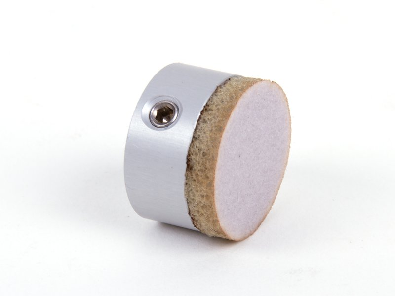 The coupler has a conformable, abrasive surface that gently grabs an egg.