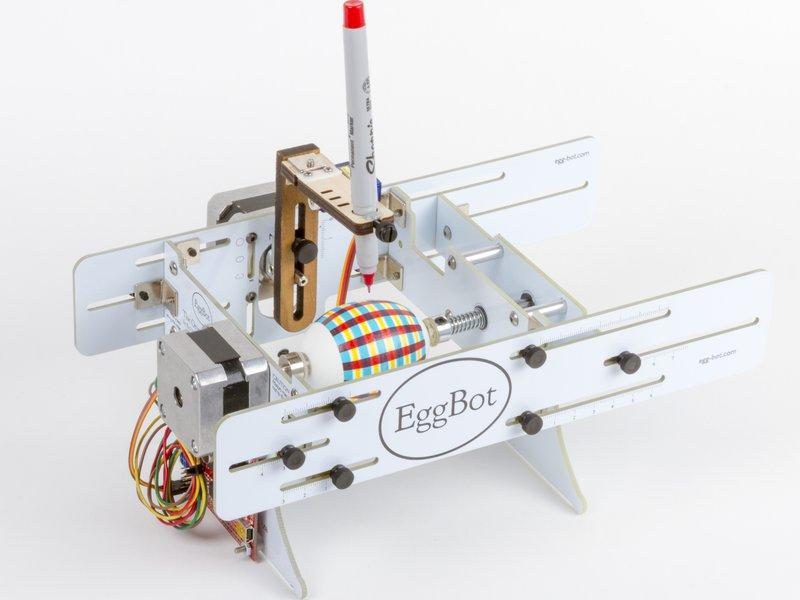 EggBot with egg