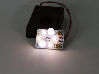 Flickery Flame Soldering Kit: White/Warm White