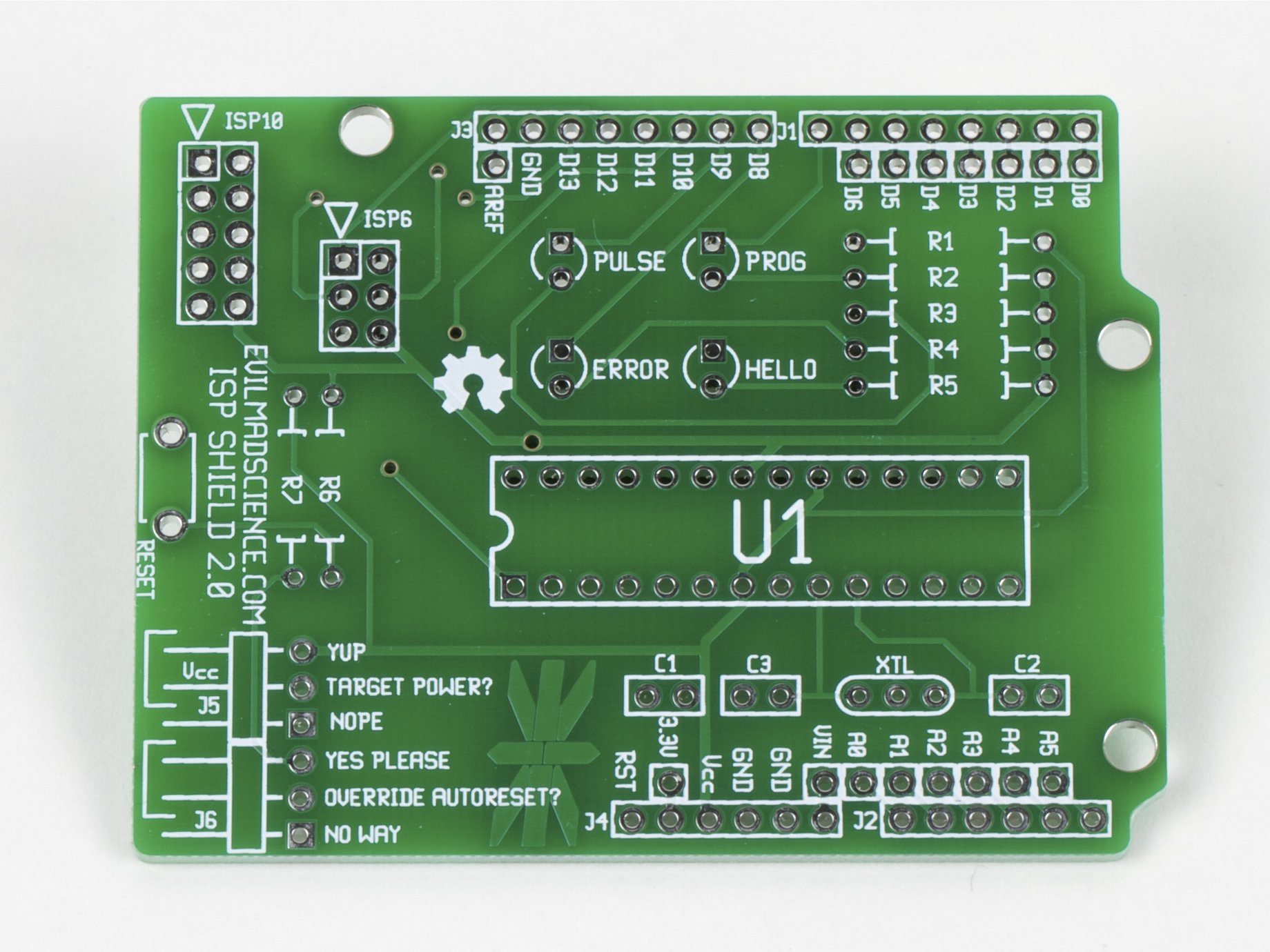 ISP Shield for Arduino