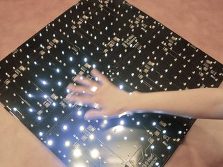 Interactive LED panel kits