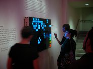 Museum display: Interactive Game of Life