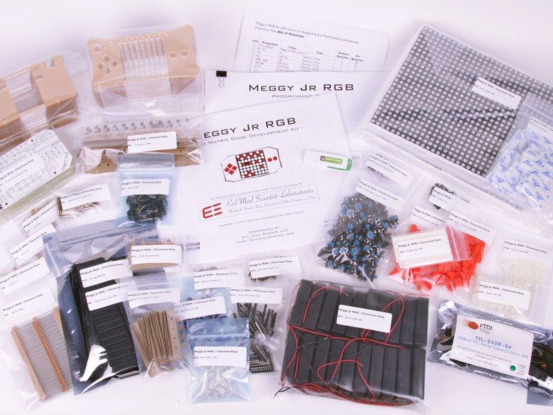 Meggy Jr RGB Classroom Pack