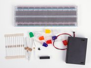 Deluxe Breadboard Menorah Kit