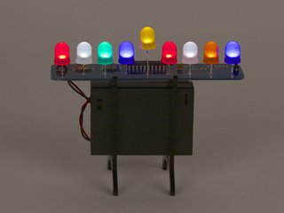 Deluxe LED Menorah Kit: Special Edition