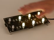 Individual Octolively module with warm white LEDs