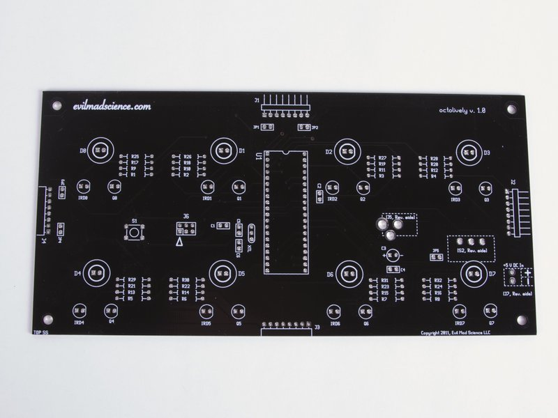 Octolively PCB