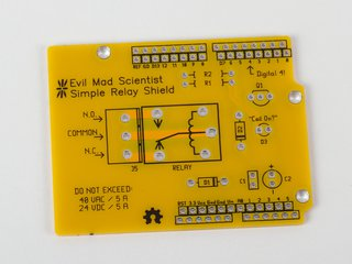 Relay Shield PCB