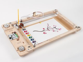 Super Awesome Sylvia's WaterColorBot!