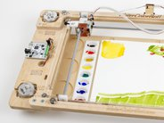 Paint Palette shown in WaterColorBot (not included)