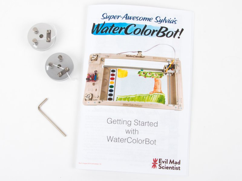 WaterColorBot Winch Upgrade Kit
