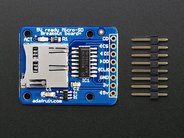 MicroSD Breakout board with headers