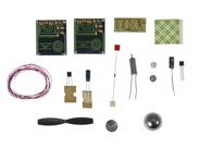 Electronic kit components