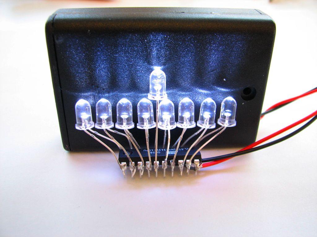 LED Mini Menorah Soldering Kits