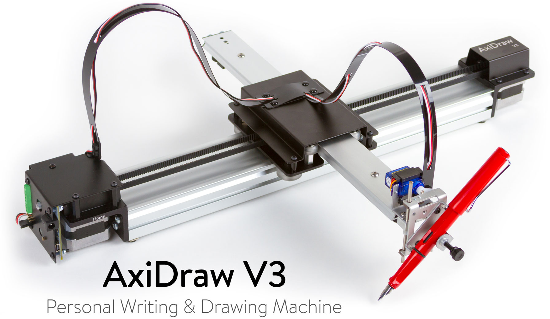 The AxiDraw V3 Drawing Machine