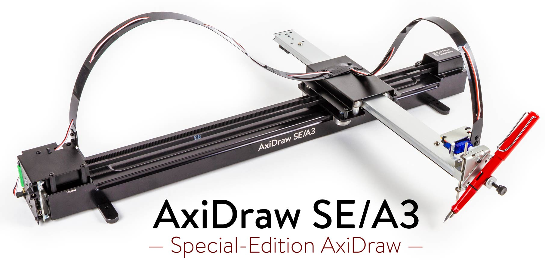 The AxiDraw SE/A3 Drawing Machine