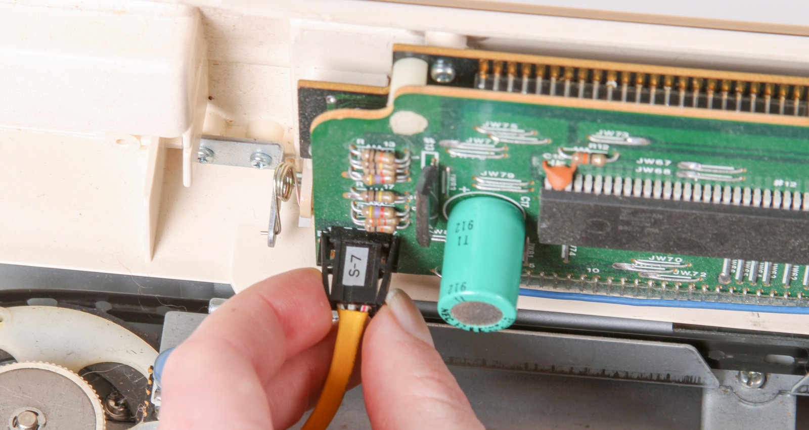 Ayab Kh 910 Evil Mad Scientist Wiki Computer And Is The Main Circuit Board Everything Connects Directly Disconnect All Of Cables That Connect Inside This Cover To Rest Machine Smaller Connectors Have Locking Clip